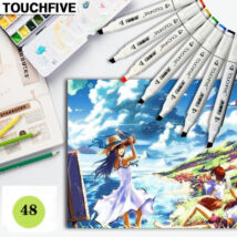 TOUCHFIVE alkoholos grafikai marker 048 yellow green