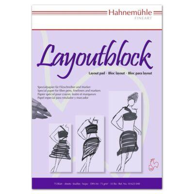 Layout 75 lap/blokk 75g/nm DIN A3
