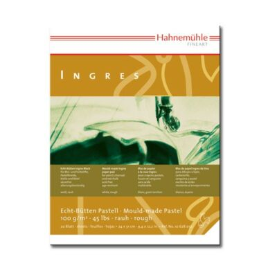 Hahnemühle Ingres rajzblokk 20 lap/blokk 100g/nm 30x40cm fehér