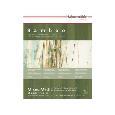 Hahnemühle Bambuszpapír 25 lap/blokk 265g/nm 24x32cm