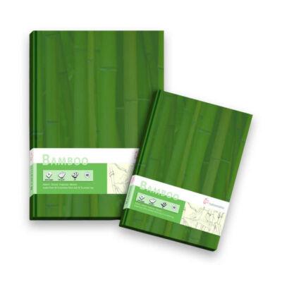 Hahnemühle Bambuszpapírblokk 105gr/m2 A5, 64 lap keménypapír borítással
