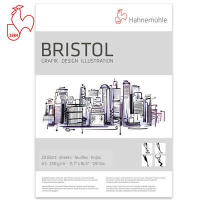 Hahnemühle - Bristol 250g/m2 A3 blokk