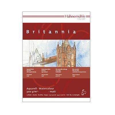 Hahnemühle Britannia festőblokk 300g/nm 12 lap/blokk 24x32cm
