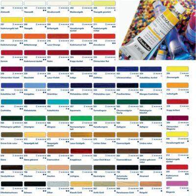 Schmincke PRIMAcryl akrilfesték 3.árkategória 35ml Cadmium yellow medium 211