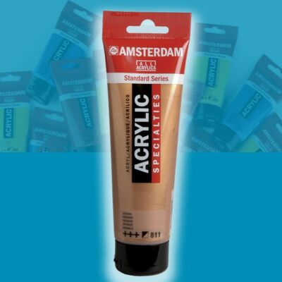 Talens Amsterdam akrilfesték 120ml Brilliant blue 564