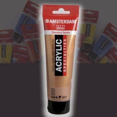Talens Amsterdam akrilfesték 120ml Lamp black 702