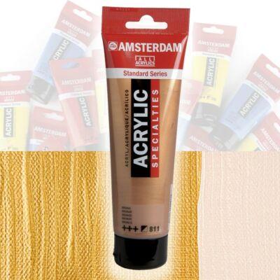 Talens Amsterdam akrilfesték 120ml  Rich gold 802