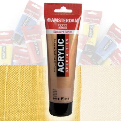 Talens Amsterdam akrilfesték 120ml  Gold 803