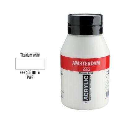 Talens Amsterdam akrilfesték 1000ml titanium white 105