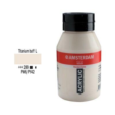 Talens Amsterdam akrilfesték 1000ml titanium buff light 289