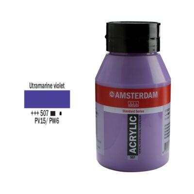 Talens Amsterdam akrilfesték 1000ml ultramarine violet 507