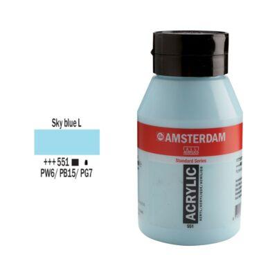 Talens Amsterdam akrilfesték 1000ml sky blue light 551