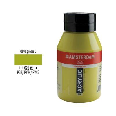 Talens Amsterdam akrilfesték 1000ml olive green light 621