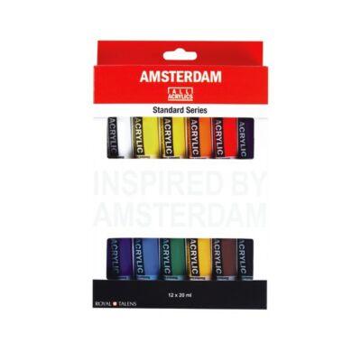 Talens Amsterdam akrilkészlet 12x20ml