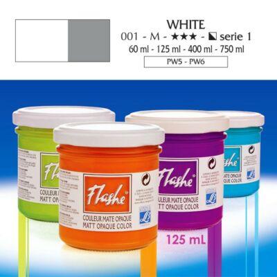 Lefranc&Bourgeois Flashe akrilfesték 1.árkategória 125ml White