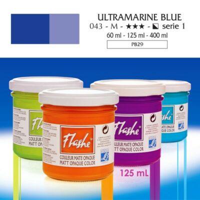 Lefranc&Bourgeois Flashe akrilfesték 1.árkategória 125ml Ultramarine blue