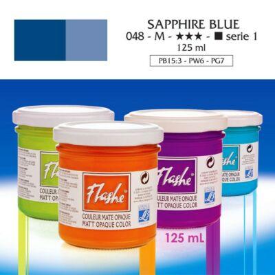 Lefranc&Bourgeois Flashe akrilfesték 1.árkategória 125ml Sapphire blue 048