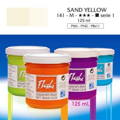 Lefranc&Bourgeois Flashe akrilfesték 1.árkategória 125ml Sand yellow