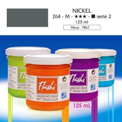 Lefranc&Bourgeois Flashe akrilfesték 2.árkategória 125ml Nickel