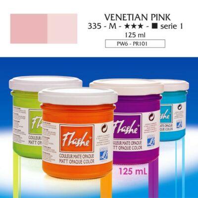 Lefranc&Bourgeois Flashe akrilfesték 1.árkategória 125ml Venetian pink 335