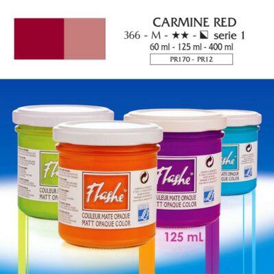 Lefranc&Bourgeois Flashe akrilfesték 1.árkategória 125ml Carmine red