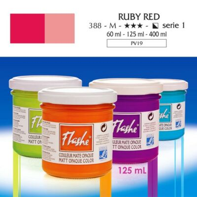 Lefranc&Bourgeois Flashe akrilfesték 1.árkategória 125ml Ruby red