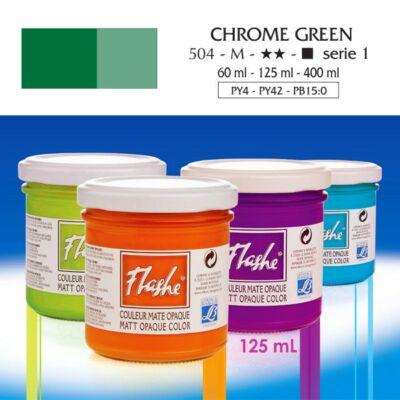 Lefranc&Bourgeois Flashe akrilfesték 1.árkategória 125ml Chrome green