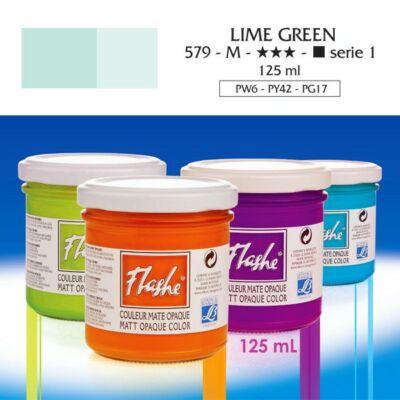 Lefranc&Bourgeois Flashe akrilfesték 1.árkategória 125ml Lime green 579