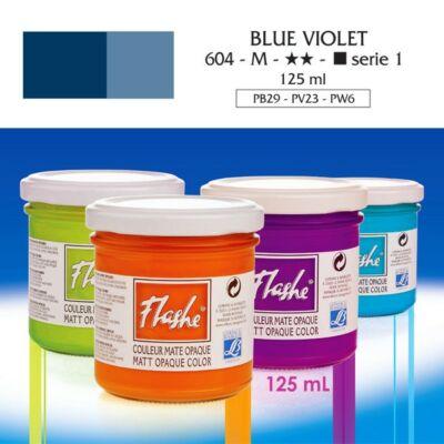 Lefranc&Bourgeois Flashe akrilfesték 1.árkategória 125ml Blue violet 604
