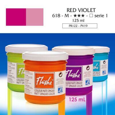 Lefranc&Bourgeois Flashe akrilfesték 1.árkategória 125ml Red violet