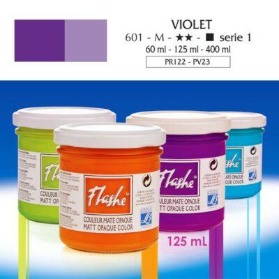Lefranc&Bourgeois Flashe akrilfesték 1.árkategória 125ml Violet 701