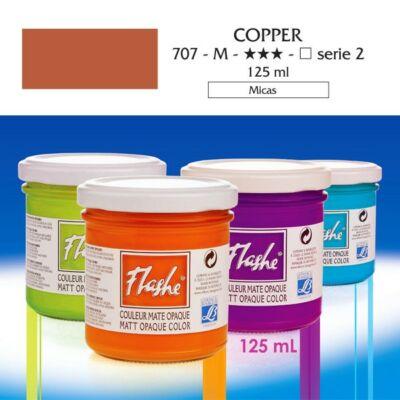 Lefranc&Bourgeois Flashe akrilfesték 2.árkategória 125ml Copper 707