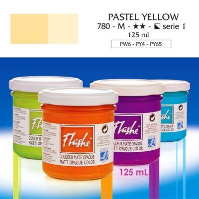 Lefranc&Bourgeois Flashe akrilfesték 1.árkategória 125ml Pastel yellow 780
