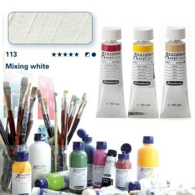 Schmincke Akademie acryl 60ml Mixing white 113