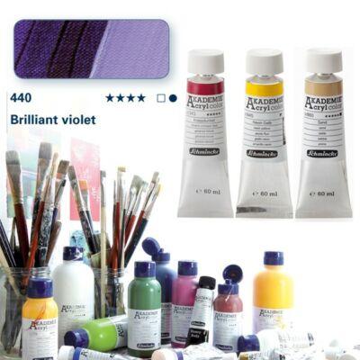 Schmincke Akademie acryl 60ml Brilliant violet