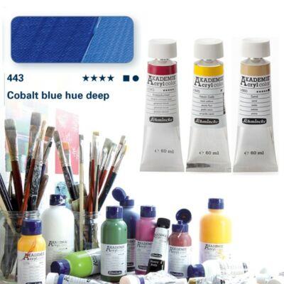 Schmincke Akademie acryl 60ml Cobalt blue hue deep 443