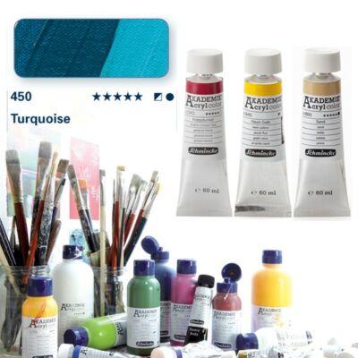 Schmincke Akademie acryl 60ml Turquoise 450