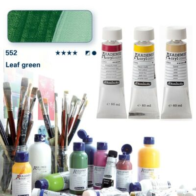 Schmincke Akademie acryl 60ml Leaf green 552