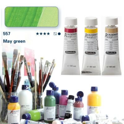 Schmincke Akademie acryl 60ml May green 557