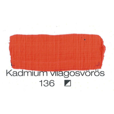 Pannoncolor AKRIL KADM.VIL.VÖRÖS 22ml tub/2