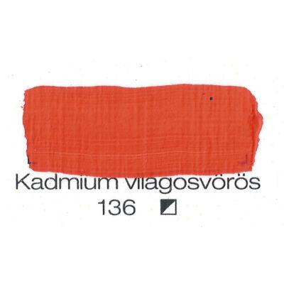 Pannoncolor AKRIL KADM.VIL.VÖRÖS 200ml tub/2