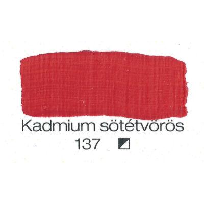 Pannoncolor AKRIL KADM.S.VÖRÖS 200ml tub/2