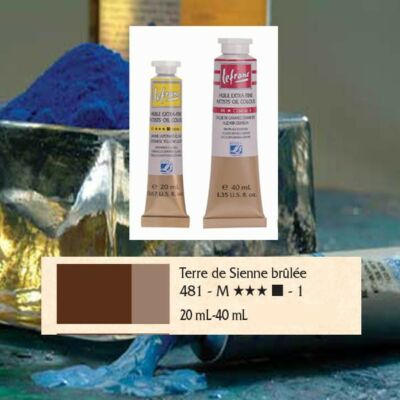 Lefranc&Bourgeois Artist Oil extra finom olajfesték 1.árkategória 20ml Burnt sienna