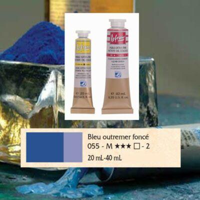 Lefranc&Bourgeois Artist Oil extra finom olajfesték 2.árkategória 20ml Ultramarine deep 055