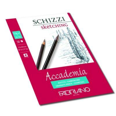 Fabriano Accademia rajzkarton 50 lap/blokk 120g/nm 29,7x42cm ragasztott