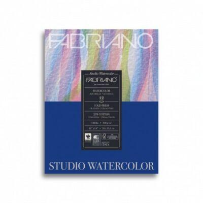 Fabriano Watercolour festőblokk 300gr/nm 20 lap/blokk (25% pamut tartalmú papír) 24x32cm