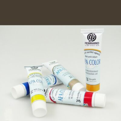 Ferrario APA Color akrilfesték 20ml Ferro battuto 46