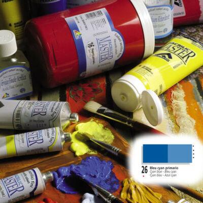 Ferrario Acrilic Master akrilfesték 60ml Cyan blue 26