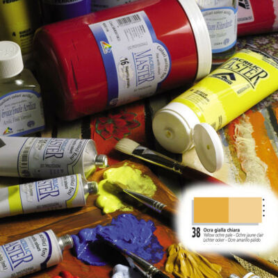 Ferrario Acrilic Master akrilfesték 60ml Yellow ochre light 38