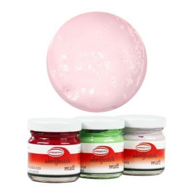 Akrilfesték, HBM, 40ml, matt, világos rózsaszín